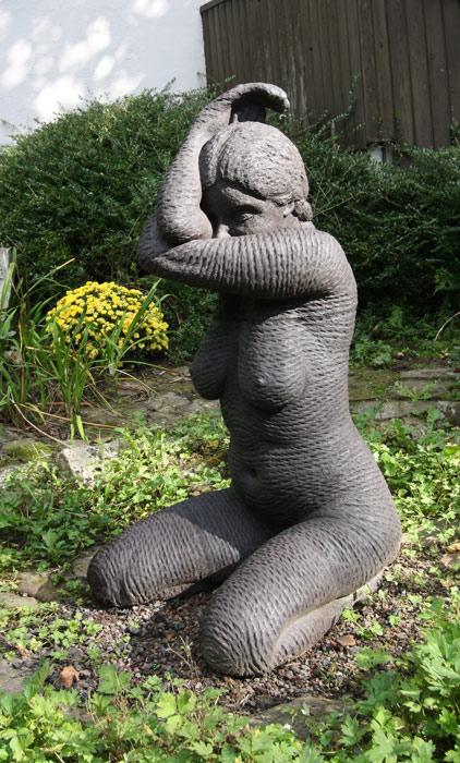 Skulpturen Garten Brombach 2015 Kirches Bande